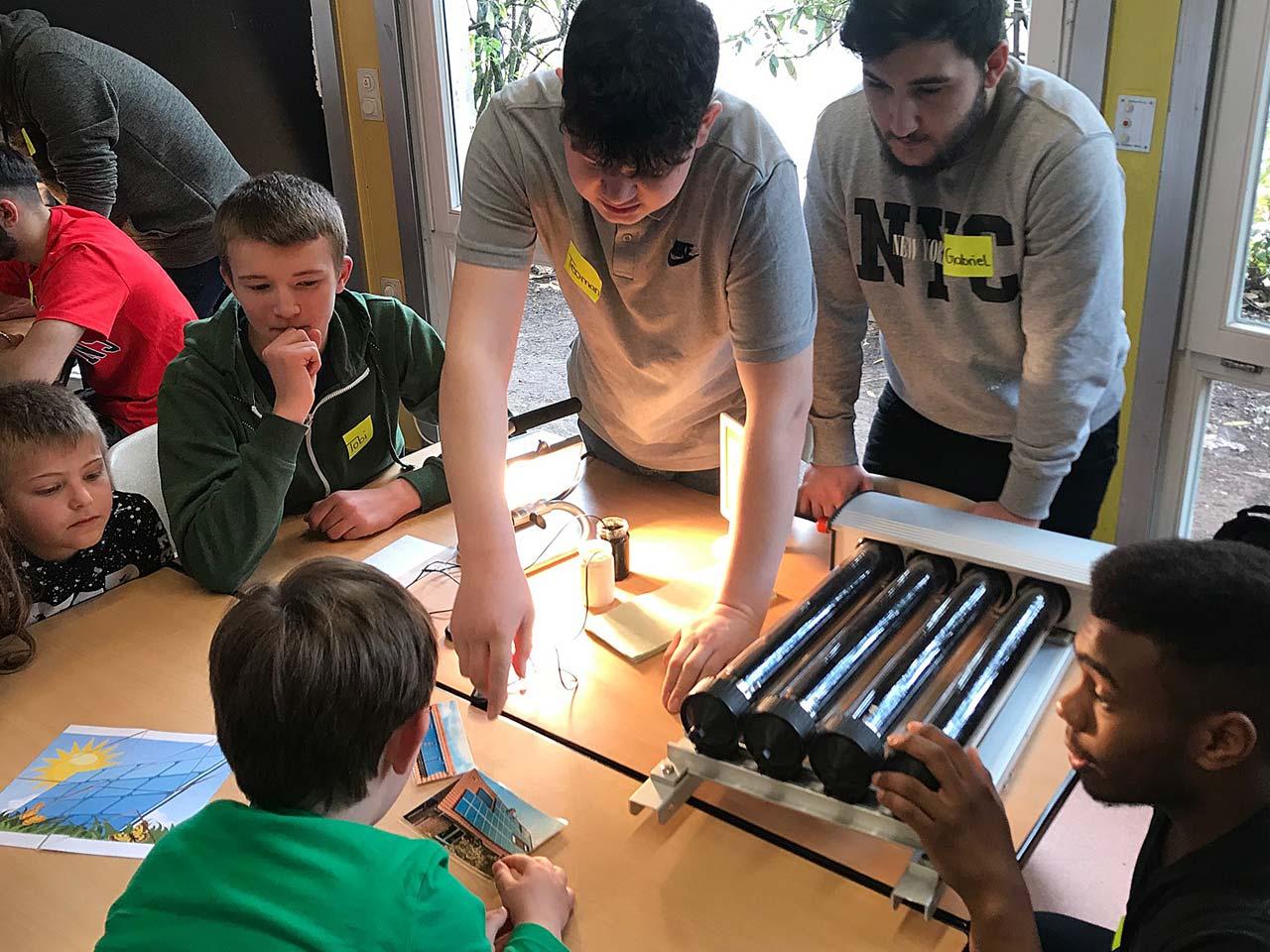 Junge Energieexperten teilen ihr Wissen