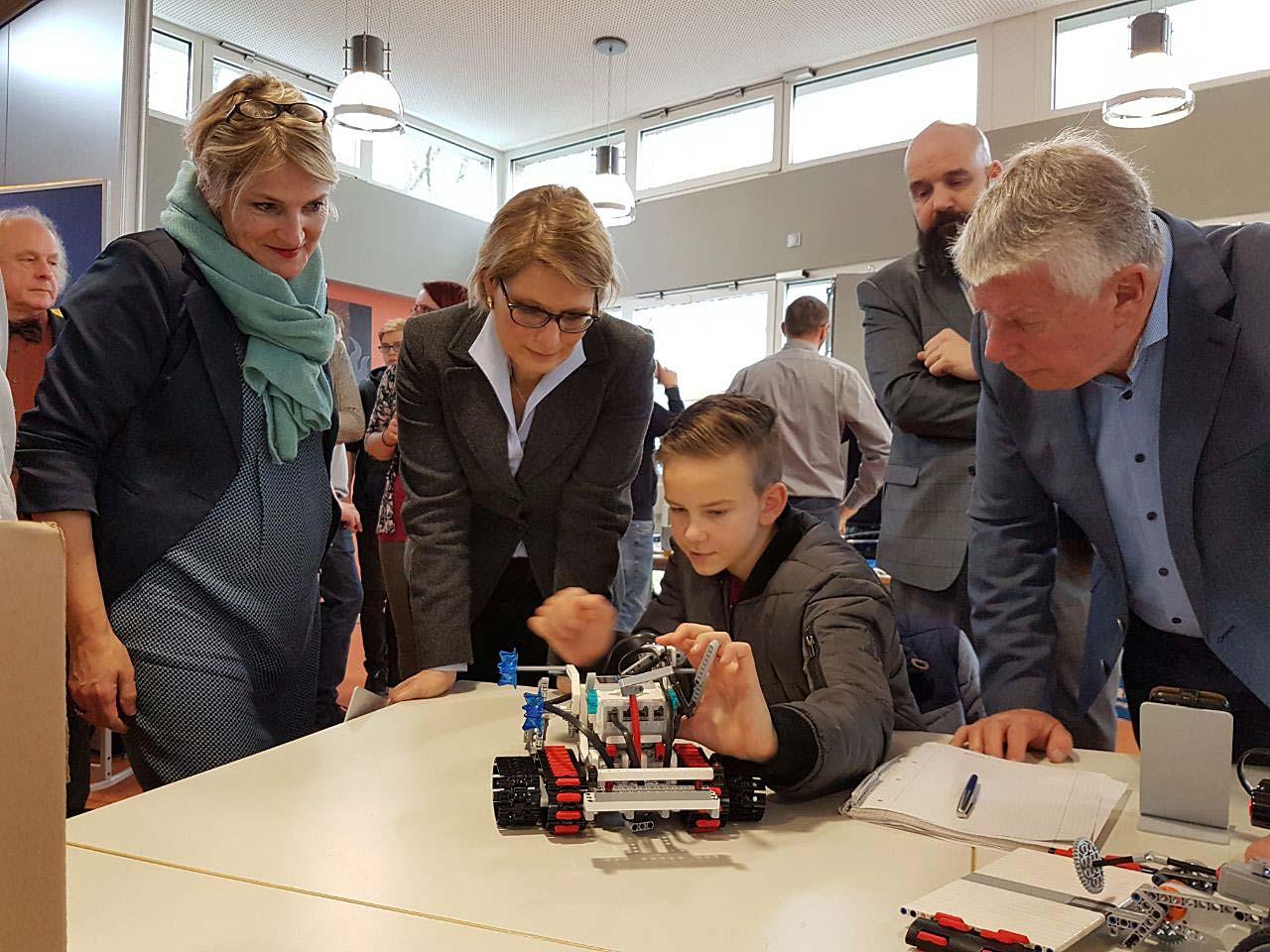 Robotertechnik weckt Begeisterung