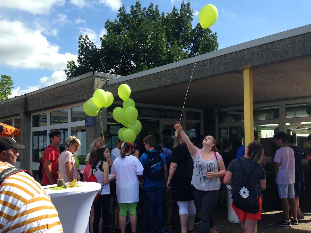 Schulfest an der Pfrimmtal Realschule PLUS, Worms