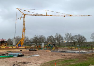 Neubau Pfrimmtalschule, 22. März 2021