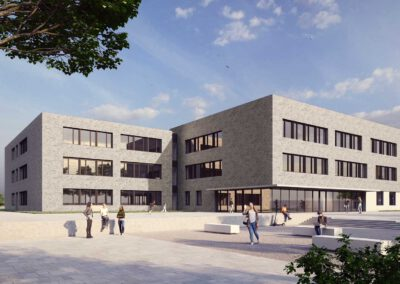 Neubau Pfrimmtalschule, Visualisierung
