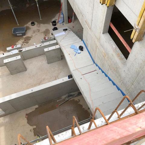 Der Neubau schreitet voran