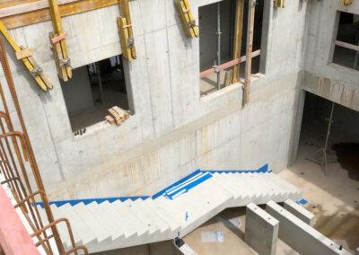 Impressionen der Aula, Neubau Pfrimmtalschule